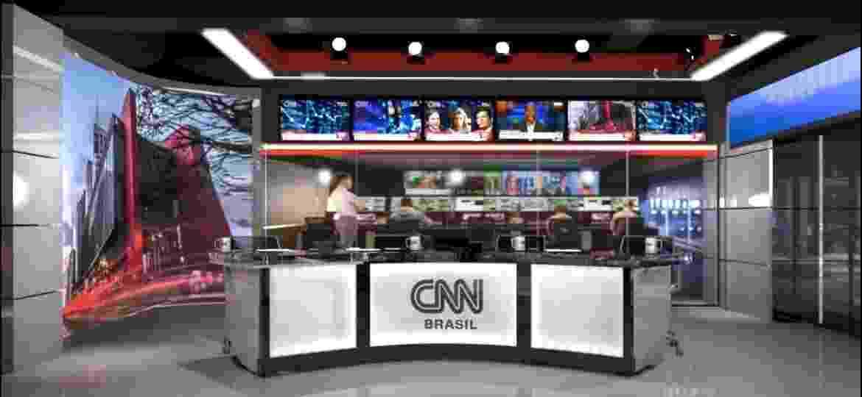 Projeto do estúdio da CNN Brasil em São Paulo - Divulgação
