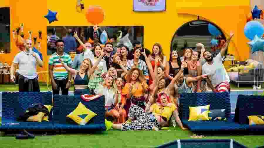 A turma toda de influenciadores e jornalistas que esteve na casa do BBB 20 - Victor Pollack/Divulgação