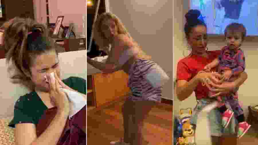 Maísa, Luísa Sonza e Sabrina participaram de vídeo com outras celebridades - Reprodução/Instagram