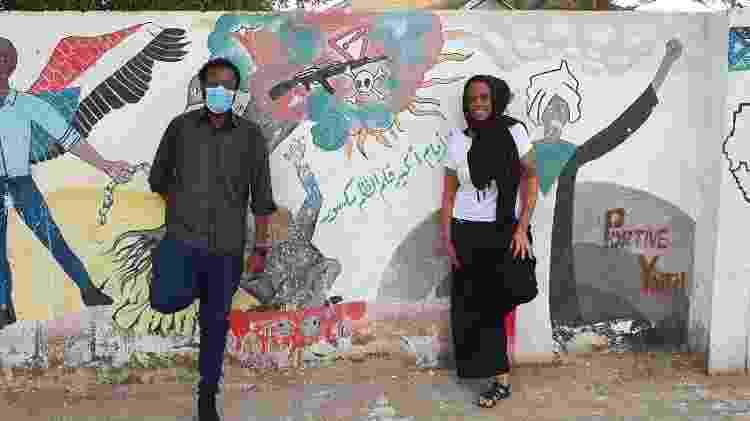sudão 04 - muro - Arquivo pessoal - Arquivo pessoal