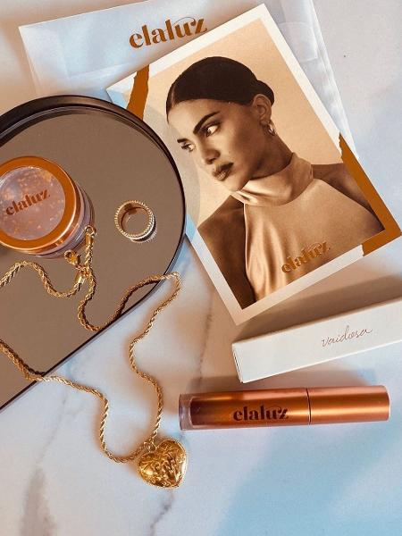 A linha da Elaluz, de Camila Coelho, conta com um lip balm e um lip & cheek stain  - Reprodução/Instagram @elaluz