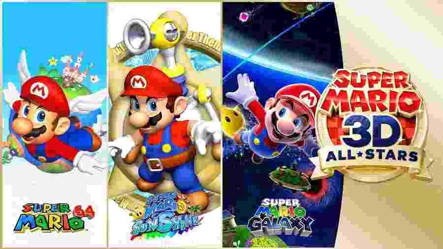 Super Mario 3D All-Stars - Divulgação/Nintendo