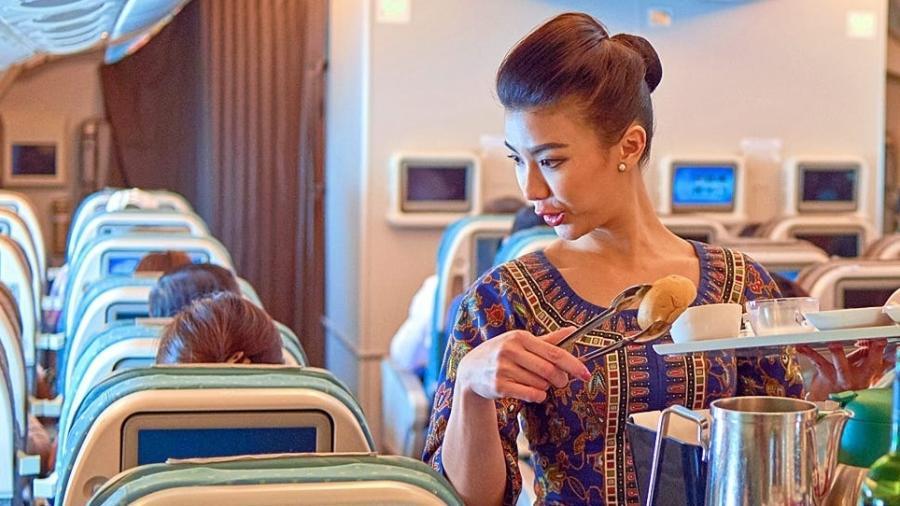 Iniciativa da Singapore Airlines tem como intuito recuperar o prejuízo causado pela freada nas viagens em consequência do coronavírus - Getty Images