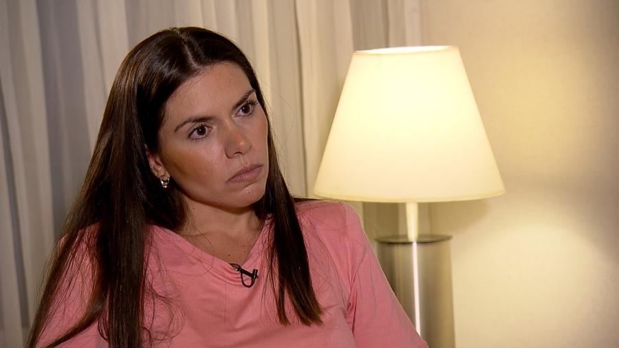 Cybelle Hermínio, ex-mulher de Tom Veiga - Divulgação/RecordTV