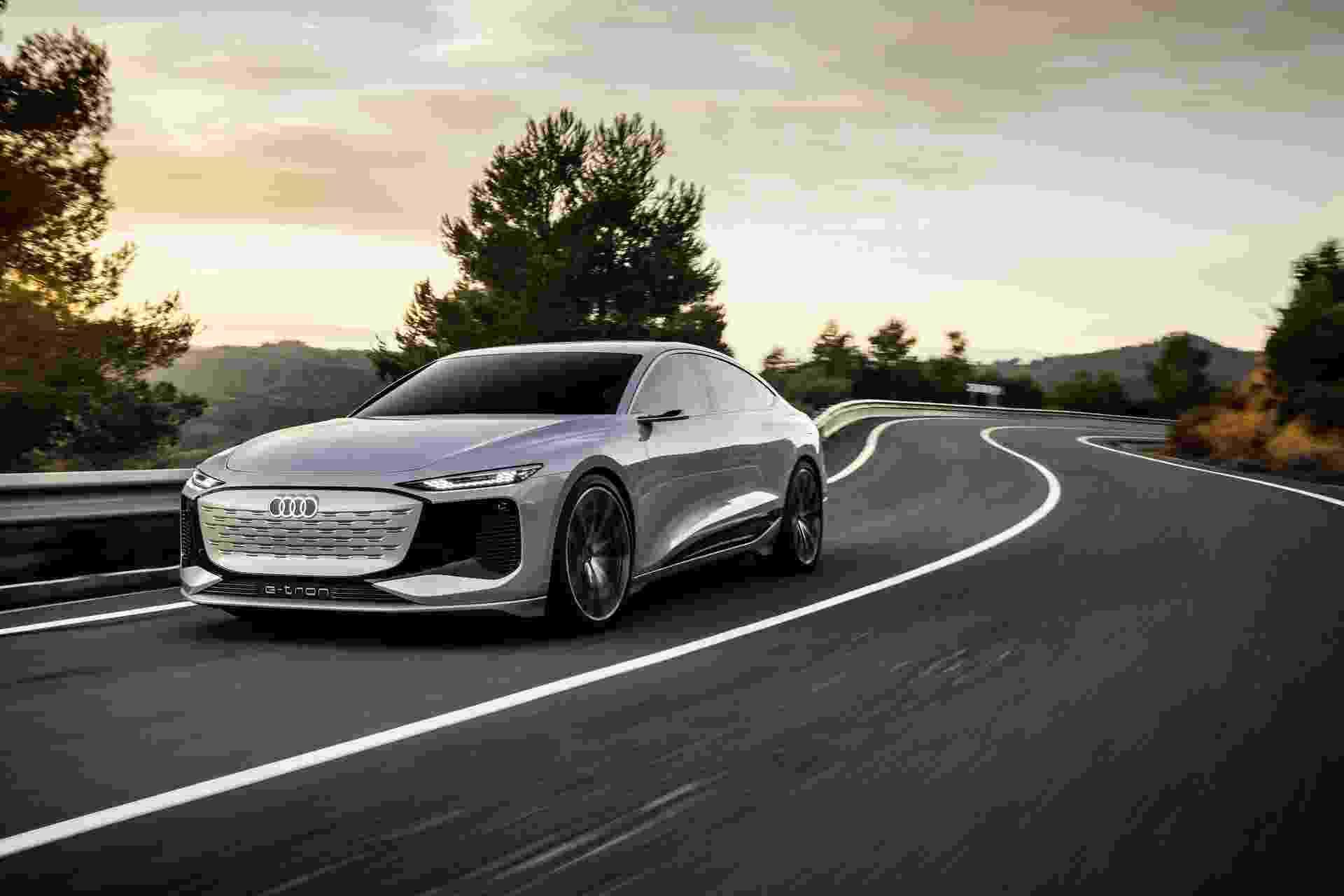 Audi A6 e-tron conceito - Divulgação