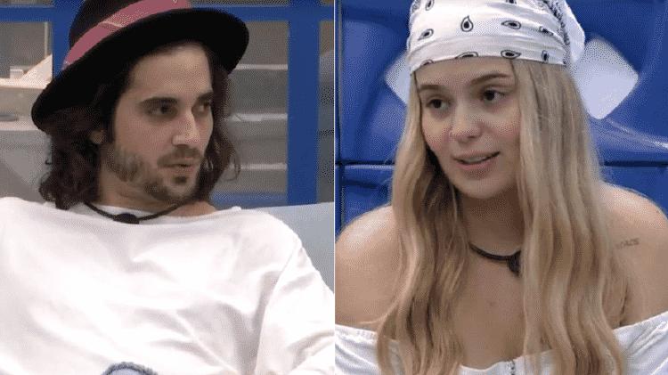 BBB 21: Fiuk e Viih Tube trocam farpas sobre paredão - Reprodução/Globoplay - Reprodução/Globoplay