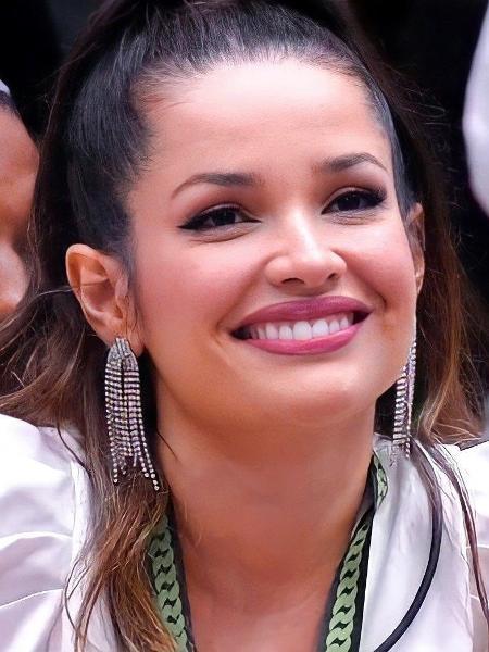 A campeã Juliette Freire ditou tendências de beleza durante o confinamento - Reprodução/Rede Globo