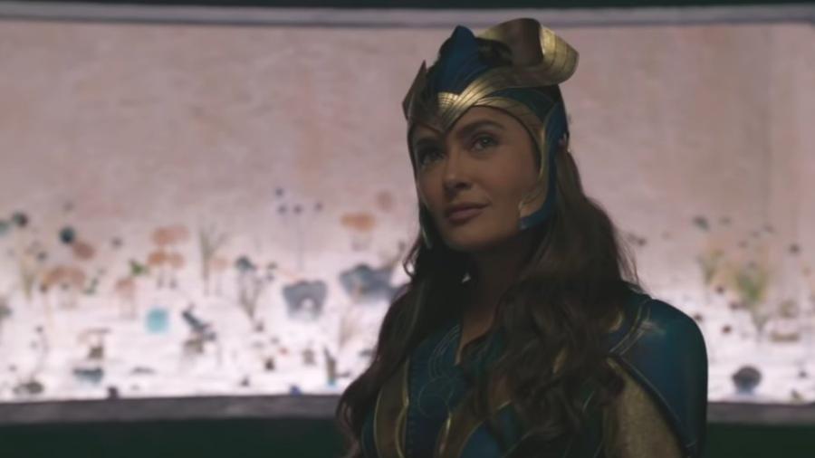 """Salma Hayek será a líder Ajak em """"Eternos"""" - Reprodução/Marvel"""