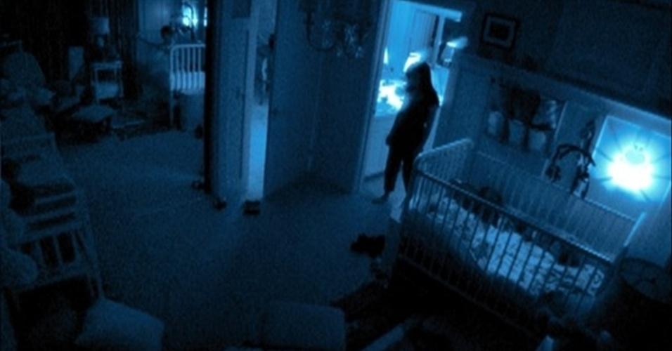 """Cena do filme """"Atividade Paranormal 2"""" (2010)"""