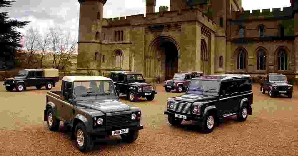 Land Rover Defender - Divulgação