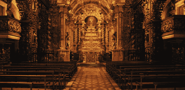 Mosteiro São Bento, no Rio de Janeiro - Divulgação - Divulgação