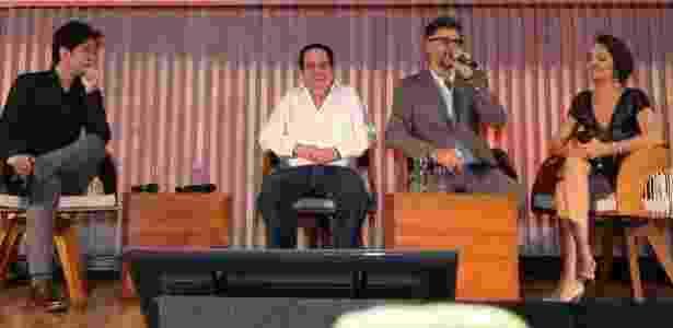 """Benedito Ruy Barbosa e Luiz Fernando Carvalho (ao centro) têm se desentendido nos bastidores de """"Velho Chico"""" - Roberto Filho/Brazil News"""