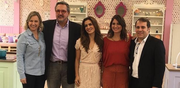 """Ticiana Villas Boas anuncia """"Bake Off 2"""" com jurados e diretores de Discovery e SBT - Reprodução/Instagram/tici_villasboas"""
