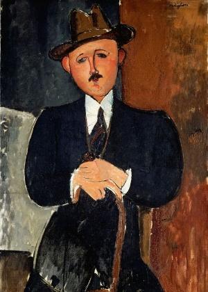 Quadro de Amedeo Modigliani - Reprodução