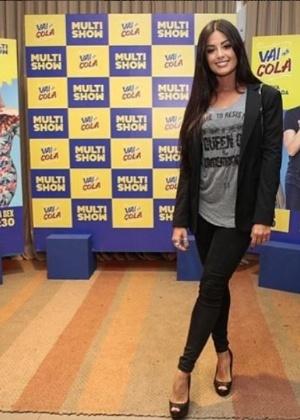 "Aline Riscado vive a personal trainer Susana no humorístico ""Vai Que Cola""  - Reprodução/Instagram/AlineRiscado"