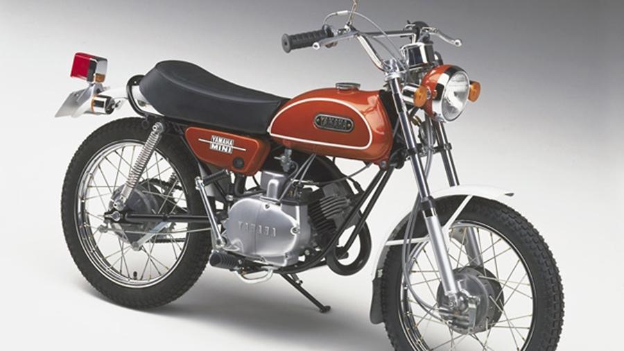 Pequenina Yamaha FT50 de Mini-Enduro foi a primeira grande paixão do colunista - Divulgação