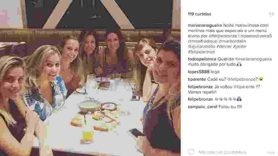 Reprodução /Instagram /mariananogueira
