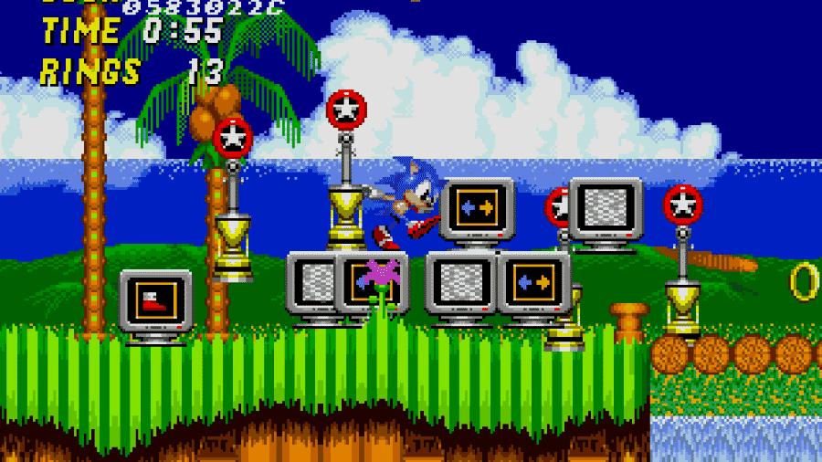 Sonic the Hedgehog 2 - Reprodução