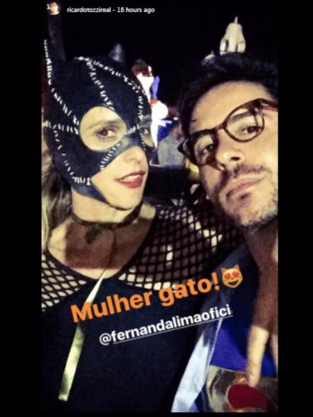 Fernanda Lima na festa de aniversário de Ivete Sangalo