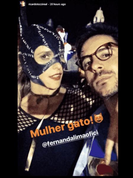 Fernanda Lima na festa de aniversário de Ivete Sangalo - Reprodução/Instagram - Reprodução/Instagram