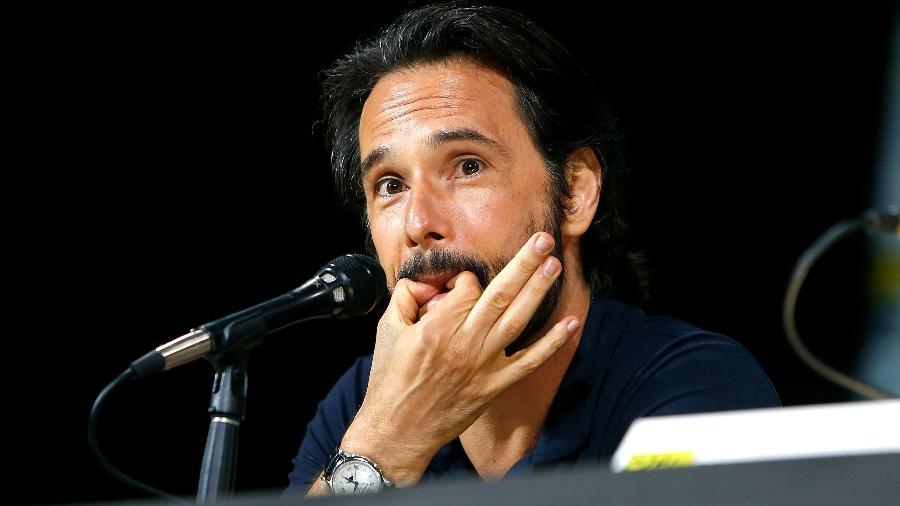 Rodrigo Santoro no painel Brave New Warriors na San Diego Comic-Con - Getty Images
