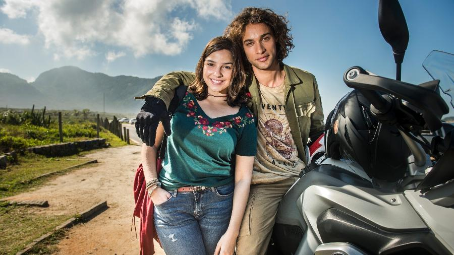 """Em """"Malhação"""", Keyla conta para Deco que ele é pai - Divulgação/TV Globo"""