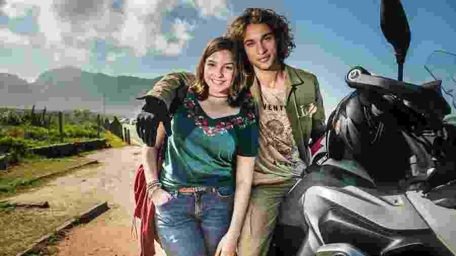 Deco (Pablo Morais) e Keyla (Gabriela Medvedovski)  - Divulgação/TV Globo