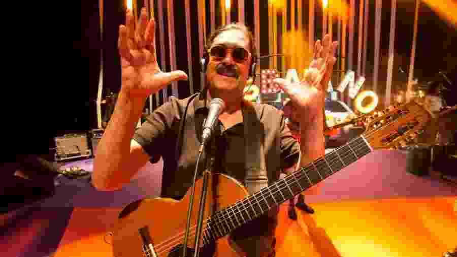 O cantor e compositor Moraes Moreira - Marcos Hermes