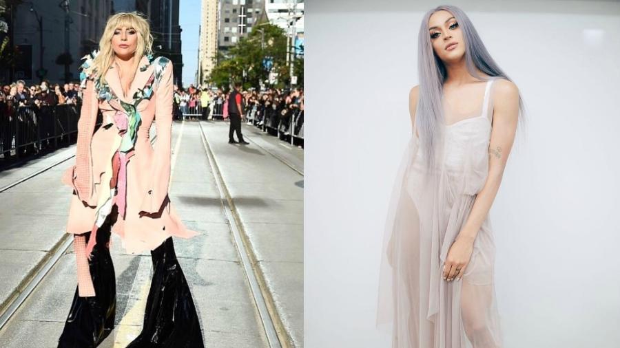 Lady Gaga e Pabllo Vittar - Reprodução/Instagram