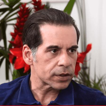 Leandro Hassum dá entrevista para Leda Nagle - Reprodução/YouTube