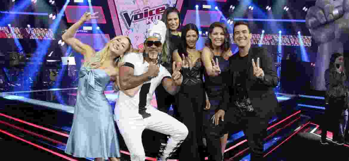 "Jurados da terceira temporada do reality musical ""The Voice Kids"" - AGNews"