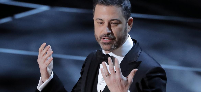 Jimmy Kimmel apresenta o Oscar de 2018 - REUTERS/Lucas Jackson