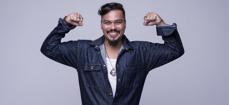 Bruno Cardoso, vocalista do Sorriso Maroto, volta a banda depois de ficar afastado por problemas de saúde - Divulgação
