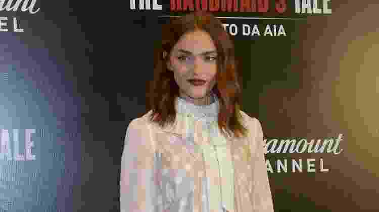 """A atriz Madeline Brewer, de """"The Handmaid's Tale"""", em São Paulo - Francisco Cepeda/AgNews - Francisco Cepeda/AgNews"""