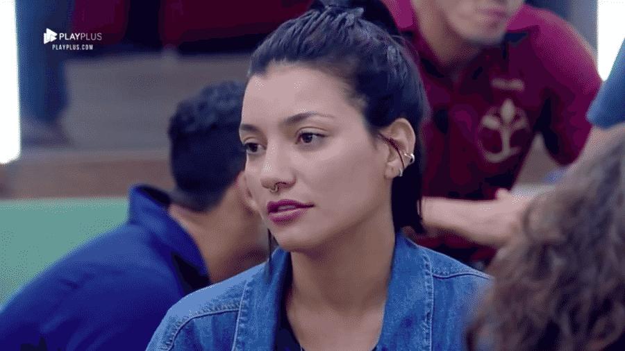 """Gabi Prado critica postura de Rafael Ilha após eliminação de """"A Fazenda 10"""" - Reprodução/PlayPlus"""
