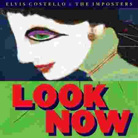 """Capa de """"Look Now"""", novo álbum de Elvis Costello - Reprodução - Reprodução"""