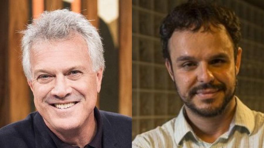 """Pedro Bial contou em recente entrevista que considera Adrilles como amigo e uma pessoa """"inteligentíssima"""" - Divulgação/Montagem UOL"""