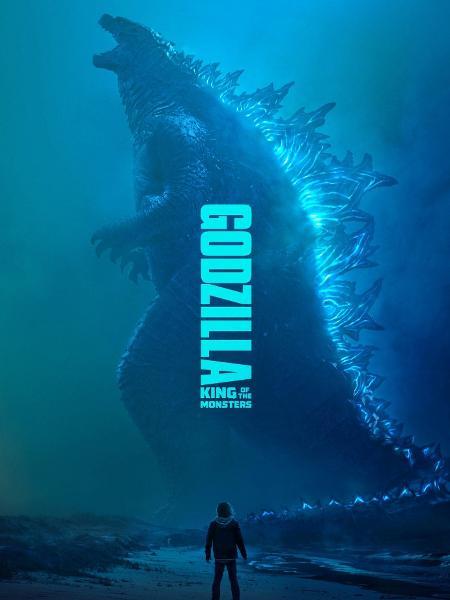"""Novo pôster de """"Godzilla 2: Rei dos Monstros"""" - Reprodução/YouTube"""