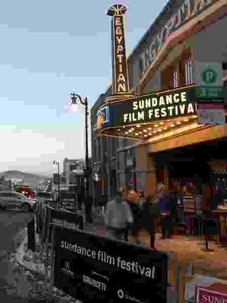Fachada de um dos cinemas do Festival de Sundance em 2018 - Bryan Steffy/GC Images