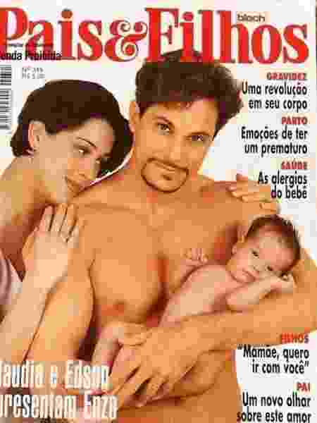 Claudia Raia e Edson Celulari posam com filho recém-nascido para capa de revista - Reprodução/Instagram