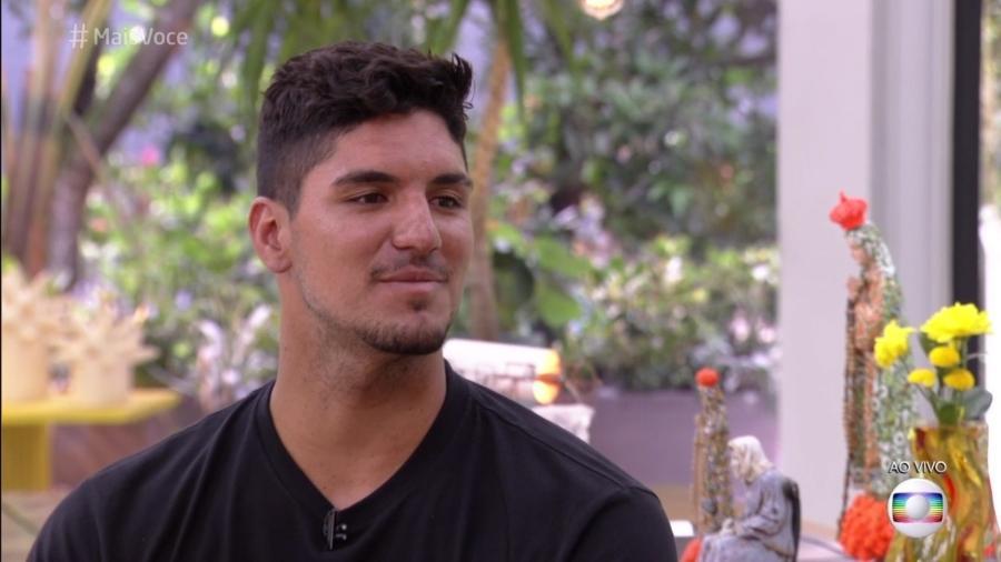 """Gabriel Medina no """"Mais Você"""" - Reprodução/Globo"""