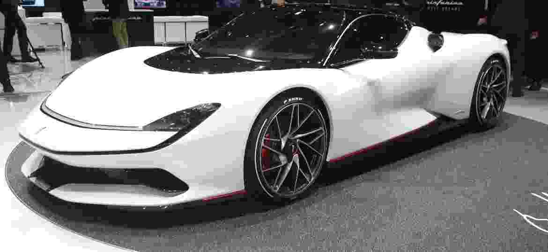 Pininfarina Battista é o carro elétrico mais potente do Salão de Genebra: 1.900 cv - Newspress