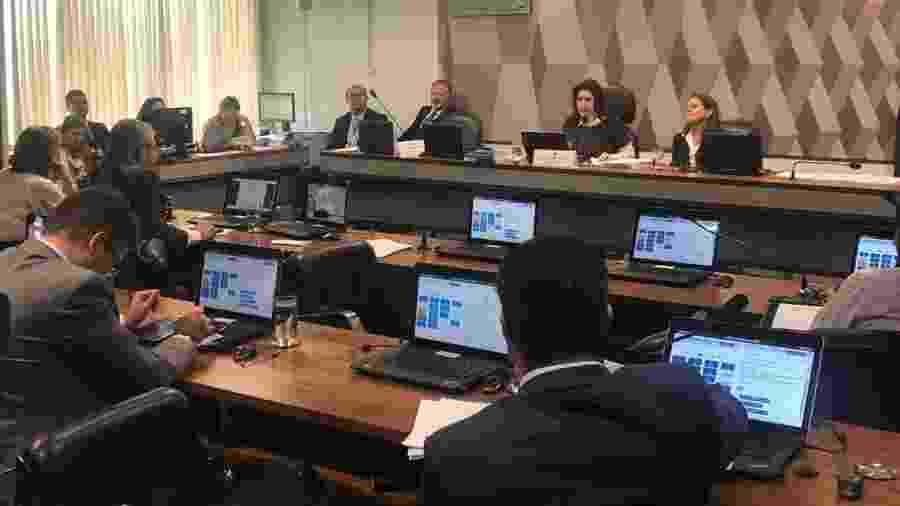 Comissão de Constituição e Justiça, presidida pela senadora Simone Tebet (MDB-MS) - Divulgação/Assessoria Simone Tebet