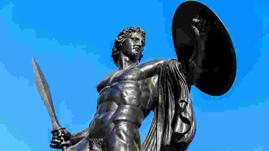 Aquiles ficou conhecido não apenas por sua habilidade como guerreira, mas por sua fraqueza - Getty Images