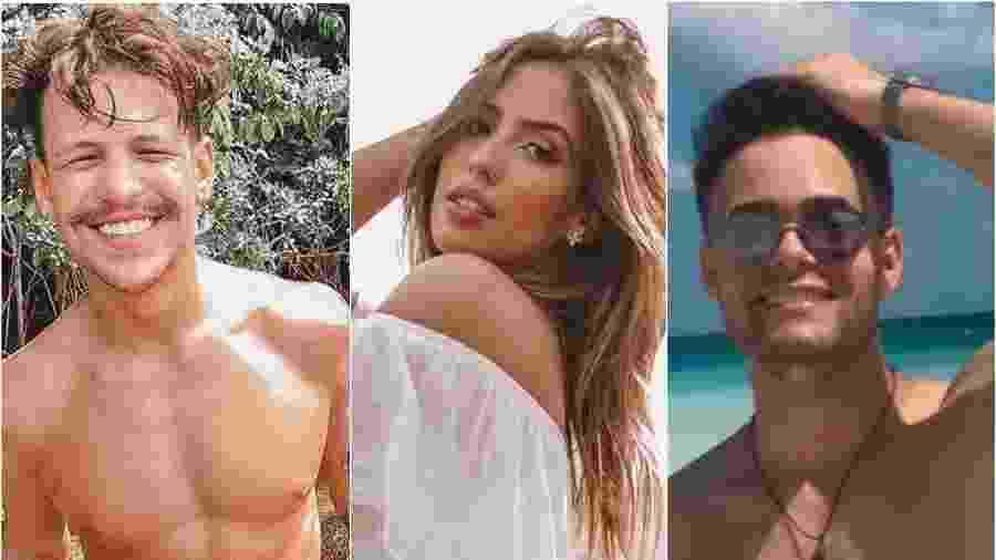 Saulo Poncio, Gabi Brandt e Douglas Dias: sim, você já ouviu falar deles - Reprodução/Instagram