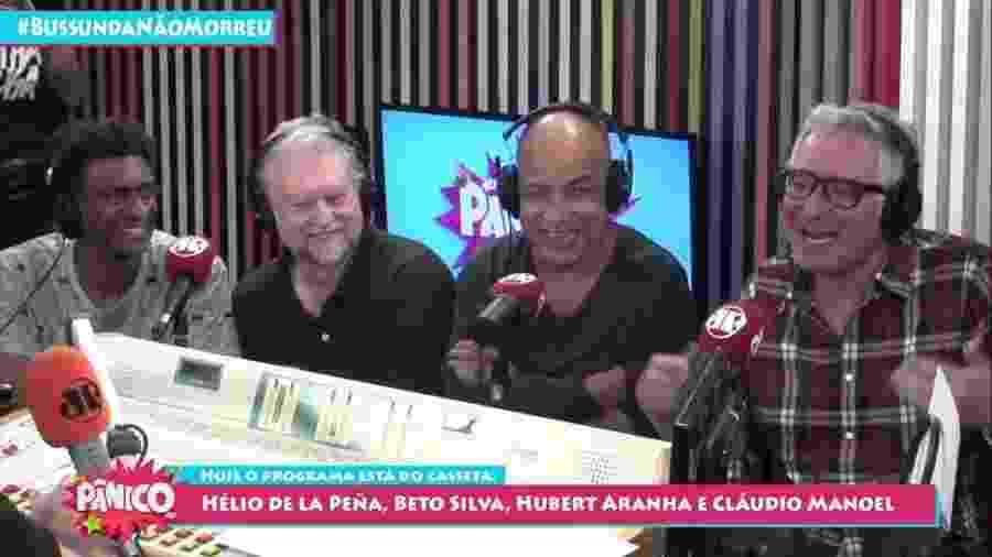 Casseta & Planeta participam do Pânico na Rádio - Reprodução