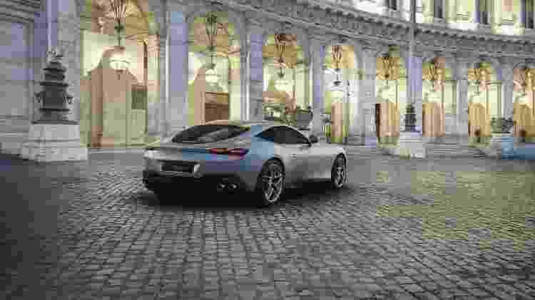 Ferrari Roma traseira - Divulgação - Divulgação