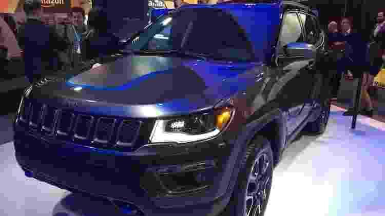 Que tal um Compass híbrido para poupar combustível? SUV da Jeep terá essa tecnologia - Daniel Neves/UOL
