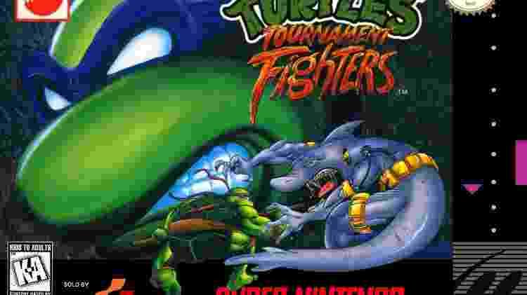 TMNT: Tournament Fighters - Reprodução - Reprodução