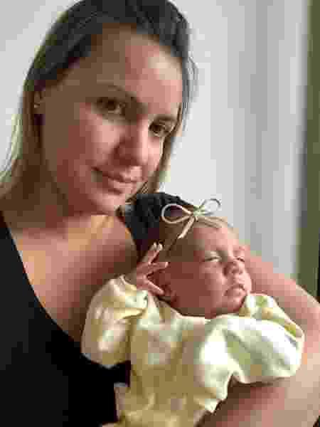 Charlotte e  a mãe - Arquivo pessoal - Arquivo pessoal